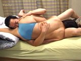 Married Asian couple sex