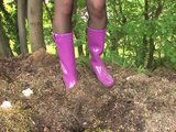 Porno Video of Peeing On Rubber Boots