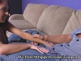 Perky Babe Fucked By Footlong