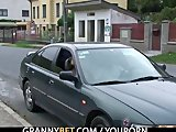 Porno Video of Young Dude Picks Up And Bangs Lonely Granny