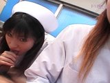 Sex Movie of Double Asian Nurses Pov Blowjob