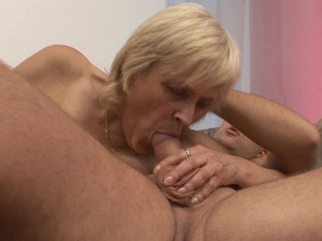 Old lady fucked hard