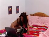 Sex Movie of Czech Babe Claudia Rossi Horny On The Webcam