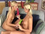 Blonde lesbian teens Cindy and Nicky - Banapro s.r.o.