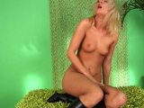 Lovely blonde Brianna masturbates - CzechSuperStars