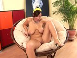 Brandy makes herself cum loud - CzechSuperStars