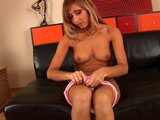 Rozalia plays with her trimmed snatch - CzechSuperStars