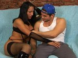 Hot Latina tranny takes it hard - Latin-Hot