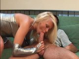 Blonde bombshell gets banged all over the place - DBM Video