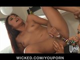 BUSTY ASIAN ASS FUCKS JAPANESE LESBIAN WIFE WITH S
