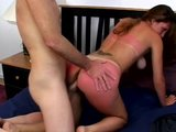 Sunburned MILF gets some cum sunscreen - Gentlemens Video