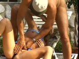 Lonely housewife bangs the pool guy - Temptation