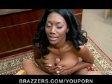 Sexy black ebony milf will do anything for her son