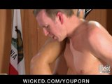 Slutty BIG TIT space MILF Julia Ann fucks the Pres