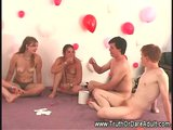 Porn Tube of Amateur Sexual Games At A Party