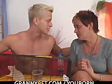 Porno Video of Granny Allows Him To Seduce Her