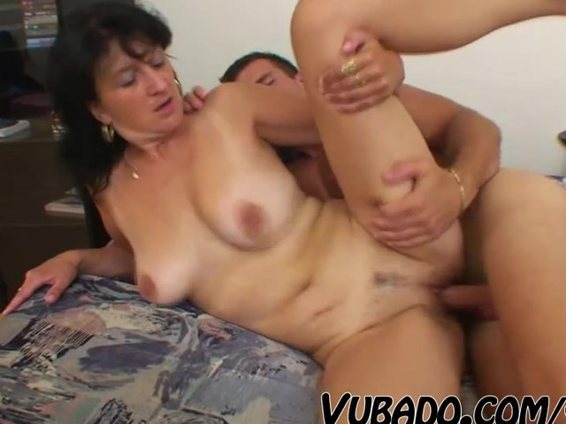 Cocksucking mature beauty banged hard