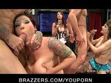 BRAZZERS LIVE SHOW 23 with Nicki Hunter, Claire Dames, Eva Angelina, Cytherea