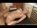 Big Ass Blonde Erica Fontes Fucked Hard...