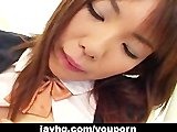 Sexy Japanese girl Yuki Hirai fucked in school classroom!