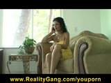 Brunette MILF Persia Pele rides college student&#039;s big-dick hard