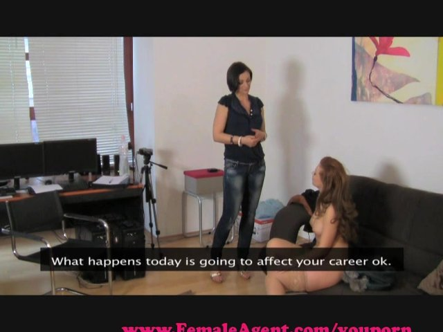 Femaleagent cautious but trusting 2