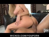 HOT young slutty girlfriend Tasha Reign strips down for rough-sex