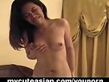 Beautiful Asian wild toy insertion pleasures