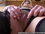 Amateur Milf homemade sucks and fucks with cumshot