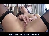 Hot mom pussy pleasure closeup