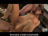 HOT soccer mom India Summer fucks her son&#039;s friends in threesome