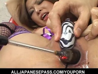 Hot Japanese MILF toys...