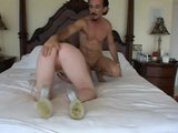 Awsome Blonde Gets Dude To Cum - Vixen Pictures