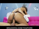 Sexy Ebony babe Misty Stone loves to deepthroat hard cock