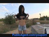 PublicAgent POV Outdoors Reality Cash for Sex