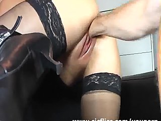 YouPorn - Blond wife violently f...