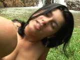 Naughty latin babe outdoors - CodeX