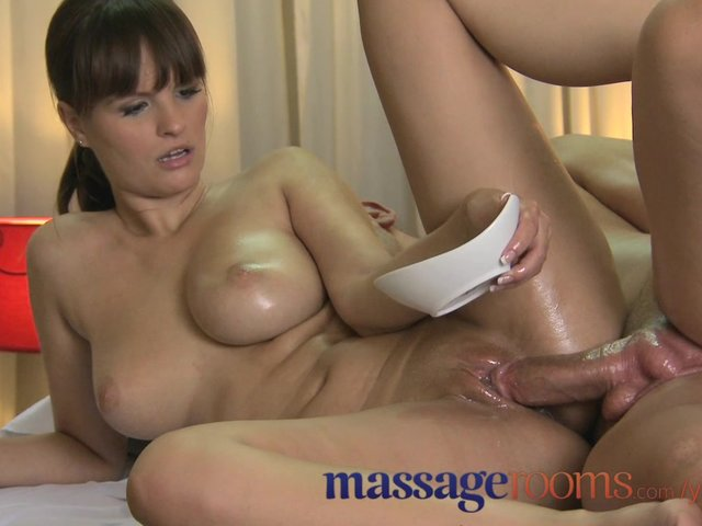 Massage rooms big tits tattoos blonde and oiled up brunette 3