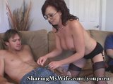 Wife Fucks New Guy For Piggy Hubby