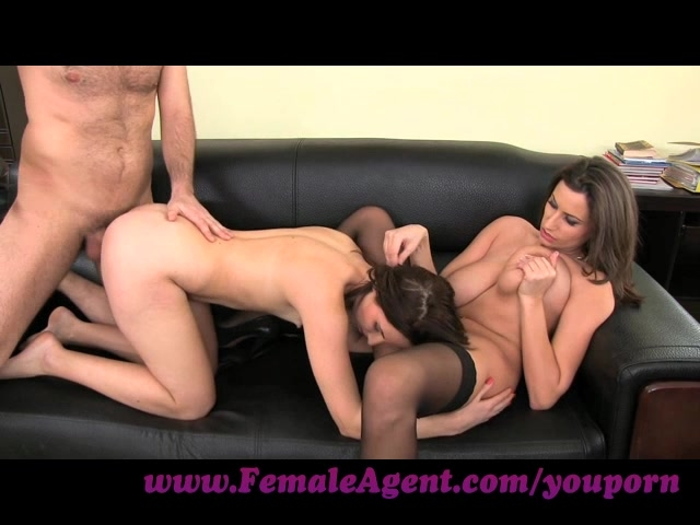 Female agent anal