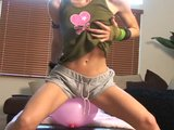 Candy And Her Pink Balloon - Sologirlcontent