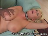 Plump Titted White Wifey Drilled By Stud