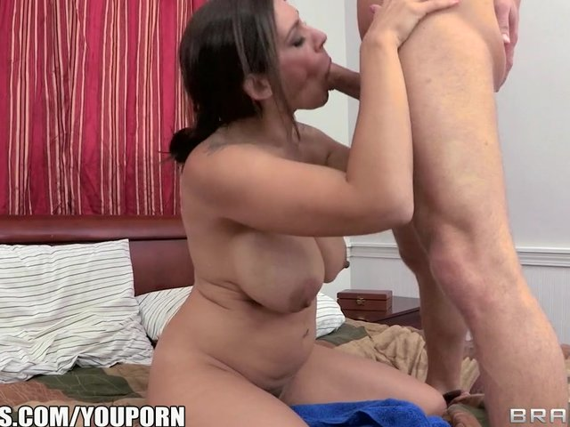 Hot mom fuck his son