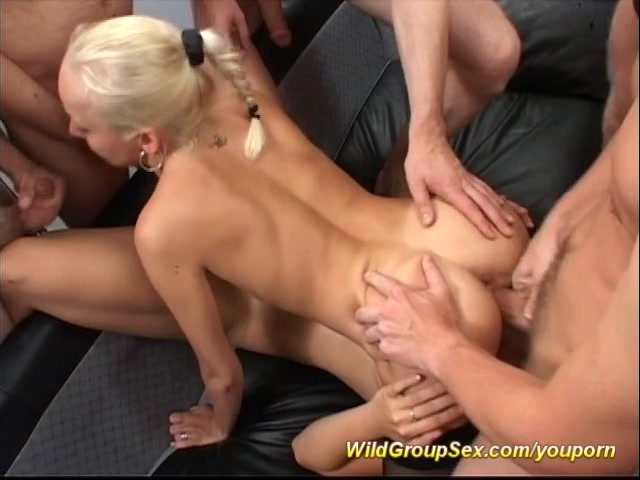 video german bukkake gangbang orgy
