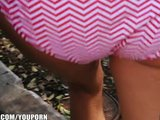 Amateur girl next door spreads her tight pussy with her toys