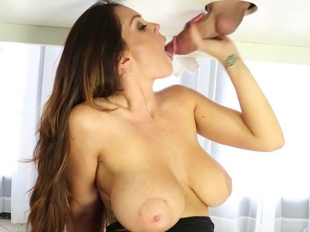 milking cock Alison tyler
