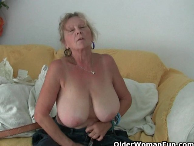 Are grandma has big tits can