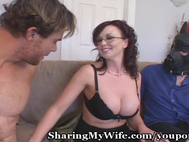 Husband Watches Wife Anal
