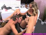FemaleAgent MILF agent works up an appetite