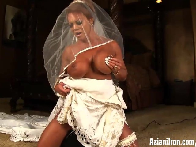 Female bodybuilder wedding dresses